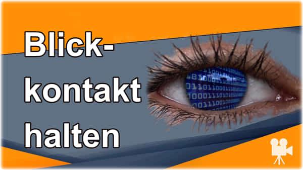 Schau mir in die Augen kleines Blickkontakt halten Blog von Yvonne de Bark