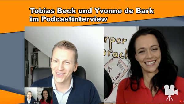 Podcast mit Tobias Beck und Yvonne de Bark