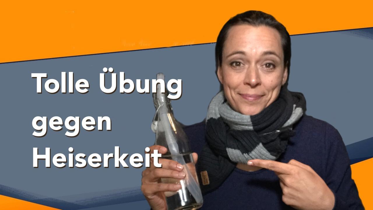 Tolle Übung gegen Heiserkeit von Yvonne de Bark