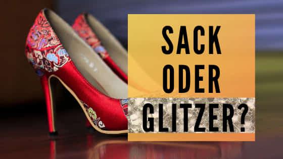 Sack oder Glitzer – Wie viel Einfluss hat die Kleidung auf dein Auftreten Blog von Yvonne de Bark