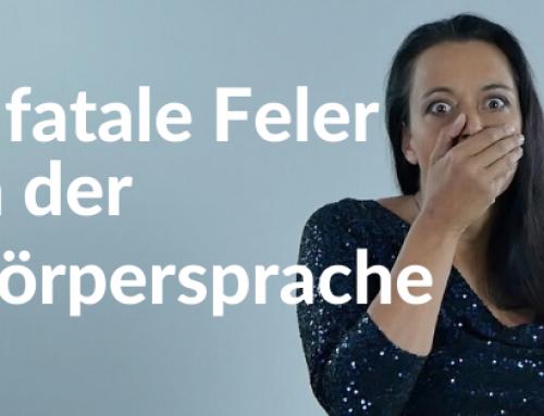 3 fatale Feler in der Körpersprache