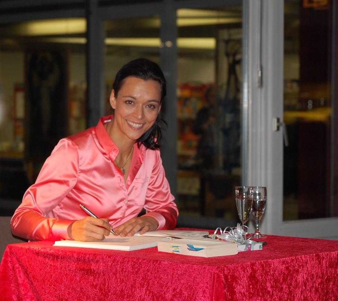 Autogrammstunde mit der Körperprachen Expertin und Authorin Yvonne de Bark